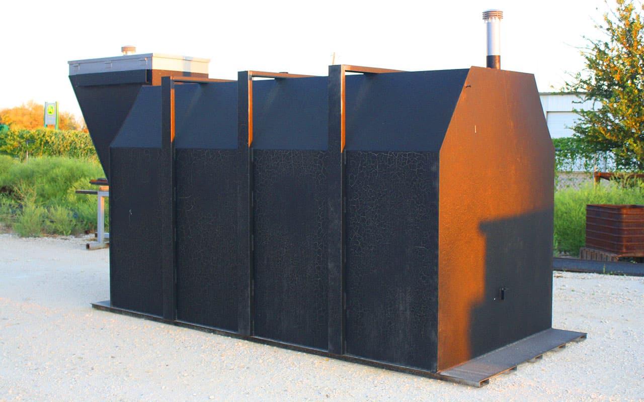 black storm shelter